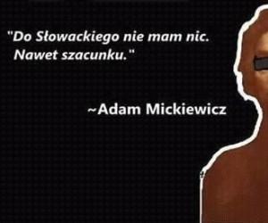 Mickiewicz dissuje Słowackiego
