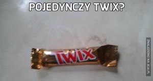 Pojedynczy Twix?