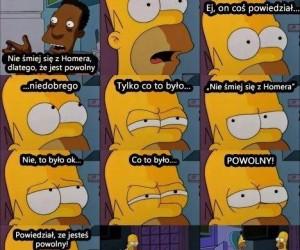 Homer się zawiesił