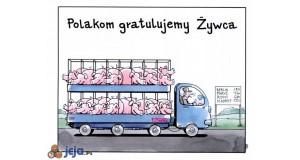 Gratulacje dla Polski