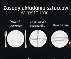 Przypomnij to sobie, gdy będziesz w restauracji