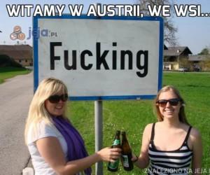 Witamy w Austrii, we wsi...