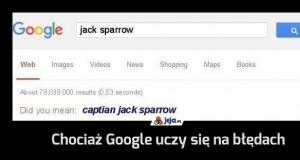 Chociaż Google uczy się na błędach