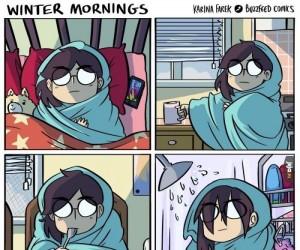 Zimowe poranki
