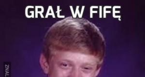 Grał w Fifę