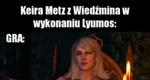 Cosplay Keiry Metz z Wiedźmina