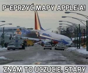 P*eprzyć mapy Apple'a!