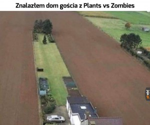 To naprawdę długi ogródek