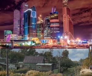 Moskwa vs każde inne rosyjskie miasto