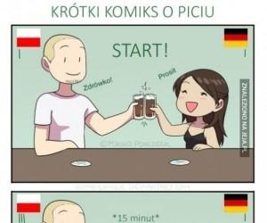 Krótki komiks o piciu