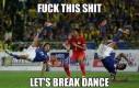Futbolowy Breakdance