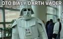 Oto biały Darth Vader