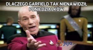 Dlaczego Garfield tak nienawidził poniedziałków
