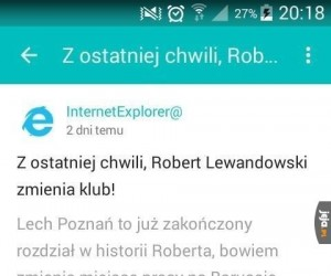 Lewandowski zmienia klub!