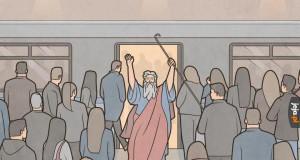 Mojżesz w metrze