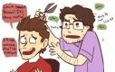 Zmiana fryzury według Avengers