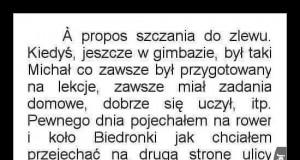 Michał z Gimnazjum