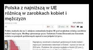 Biedne polskie feministki