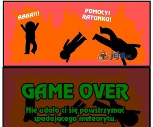 Gra w świat, znowu game over...