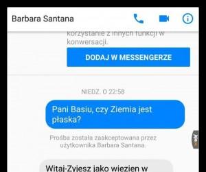 Basia zna odpowiedź na każde pytanie