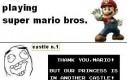 Grając w Super Mario...