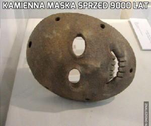 Kamienna maska sprzed 9000 lat