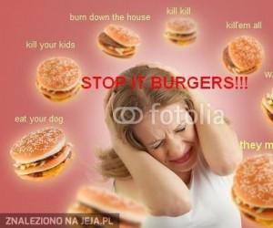 Przestańcie hamburgery!
