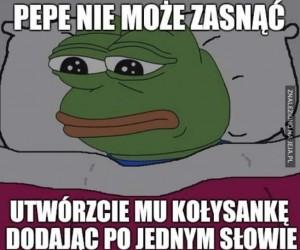 Kołysanka dla Pepe