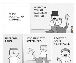 Polityczny komiks