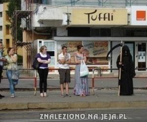 Tymczasem na przystanku w Rumunii