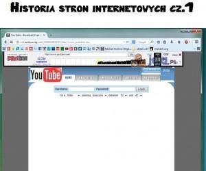 Historia stron internetowych cz.1