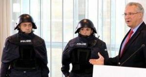 Niemiecka policja występowała w Mario