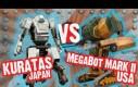 Walka robotów Japonia vs USA - oczekiwania vs rzeczywistość