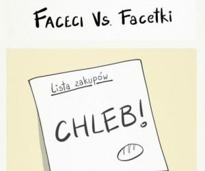 Faceci vs. Facetki