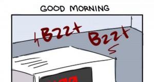 Uwielbiam rano wstawać...