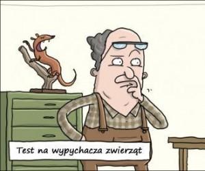 Egzamin wypychacza zwierząt