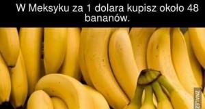 Banany za 1 dolara