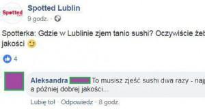 Tanie i dobre sushi