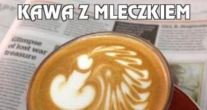 Kawa z mleczkiem