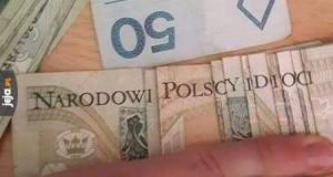 Banknotowe śmieszki