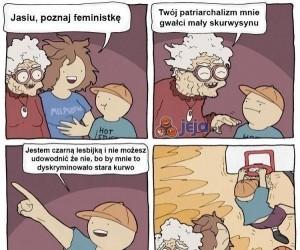Jak załatwić feministkę