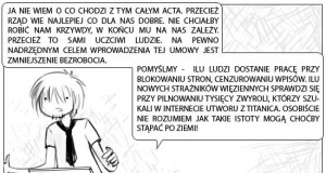 Wyższa Szkoła Sarkazmu i Prowokacji: ACTA