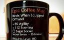 Epicki kubek kawy