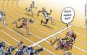 Usain Bolt na mecie