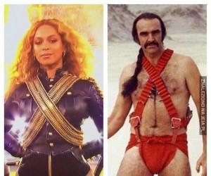 Beyonce, piękny strój!