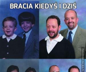 Bracia kiedyś i dziś