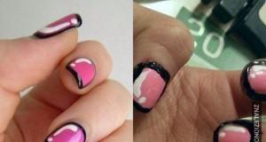Komiksowe paznokcie