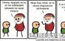 Cyanide & Happiness - Zgaszony Mikołaj