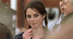 Gdy ona patrzy na Ciebie w ten sposób...