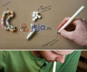 Jadalne długopisy